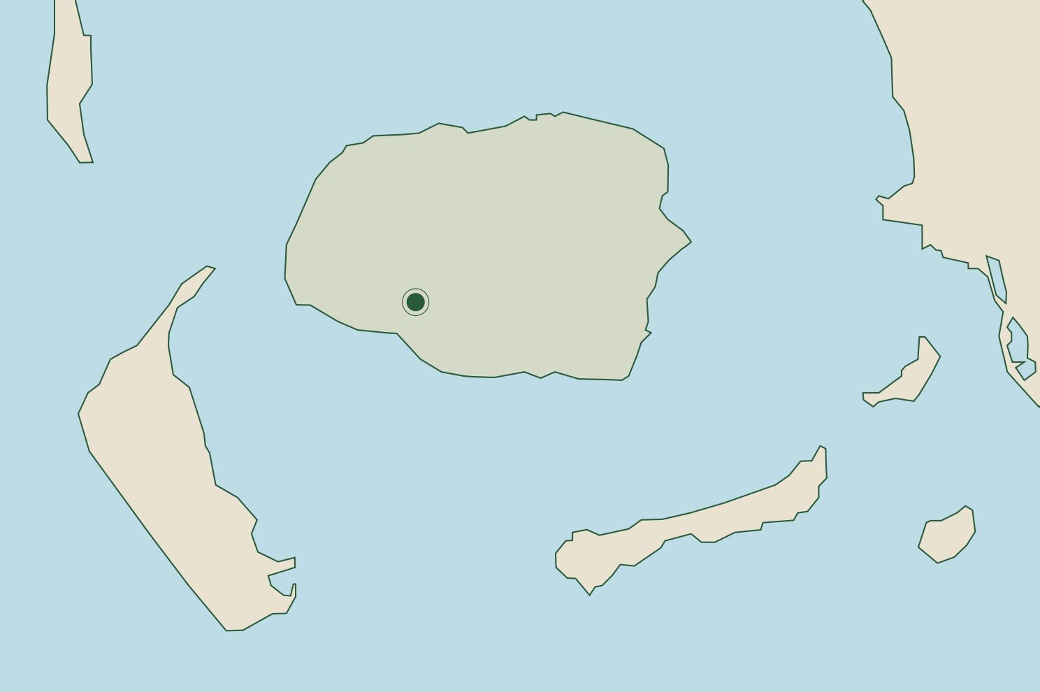 Föhr Karte
